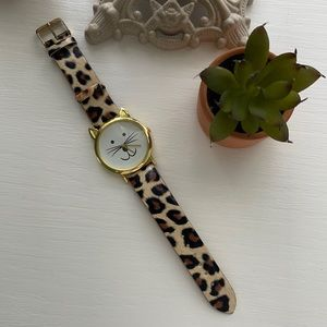 🌸 3/$8 Charming Charlie Cat Watch!